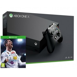 Xbox One X + fifa 18