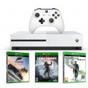 Xbox One S 500GB + Forza Horizon 3 + Rise of the Tomb Raider + Quantum Break