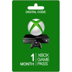 Xbox game pass 1 месяц
