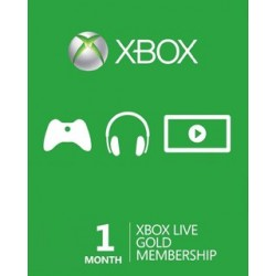 Xbox Live Gold 1m