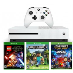 Xbox One S 500Gb + Lego star wars + Minecraft + Minecraft story mode