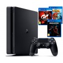 PS4 Slim 1TB + Gran Turismo Sport + Knack 2 + Uncharted