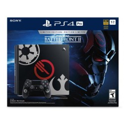 PS4 PRO 1TB Limited Edition + Starwars Battlefront II Deluxe