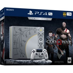 PS4 Pro 1tb + God of War (limited edition)