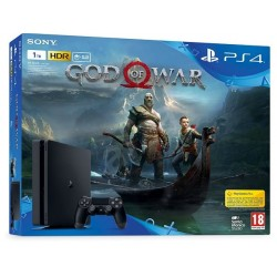 PS4 Slim 1tb + God of War