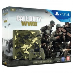 PS4 Slim 1tb - Call of Duty: WWII (limited edition)