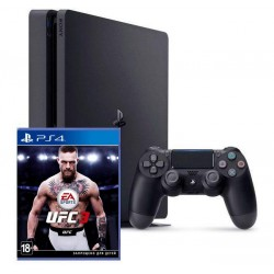 Sony PlayStation 4 Slim + UFC 3 (PS4)
