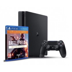 PS4 Slim + Battlefield 1 revolution