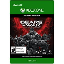 Gears of War ultimate edition (ваучер)