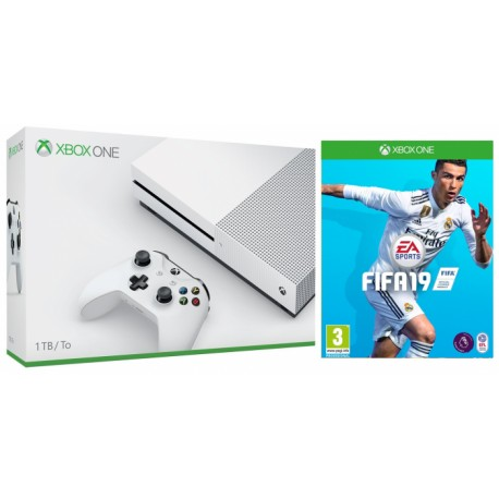 Xbox One S 1tb + fifa 19
