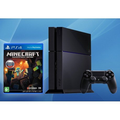 Sony PlayStation 4 500Gb + Minecraft