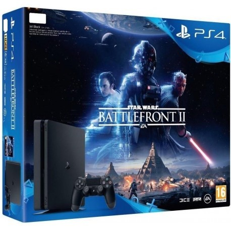 PS4 Slim + Star Wars Battlefront 2