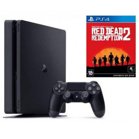 PS4 Slim + red dead redemption 2