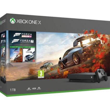 Microsoft Xbox ONE X 1TB+Forza Horizon 4+Forza Motorsport 7