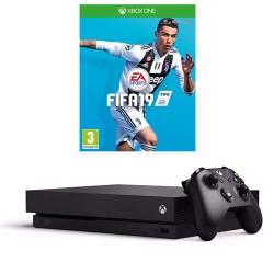 Xbox One X + Fifa 19